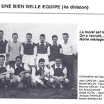 Le Football Club de la Plaine en 1958